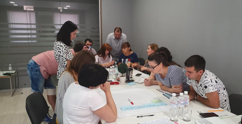 """В серпні Наталія Заверуха провела корпоративний тренінг """"Від формалізації до оптимізації: як правильно описати бізнес-процеси"""" для харківської команди TECO."""