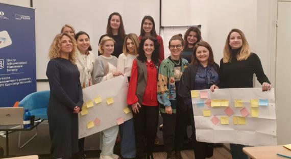 Наталія Заверуха провела тренінг з бізнес-процесів для фешн-підприємців