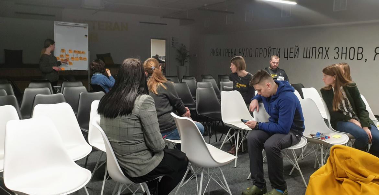21 січня, в рамках соціальних активностей Manageable, Наталія Заверуха провела навчання з опису та оптимізації бізнес-процесів для команди Veteran Hub.