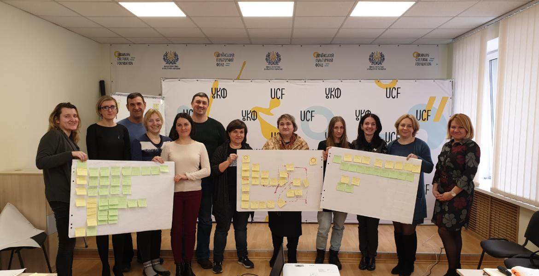 Команда Manageable провела pro bono консультацію з опису та оптимізації бізнес-процесів для Українського культурного фонду ( УКФ ).